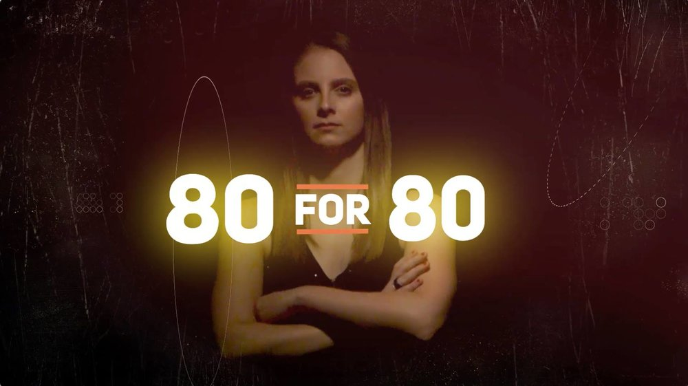 80 For 80