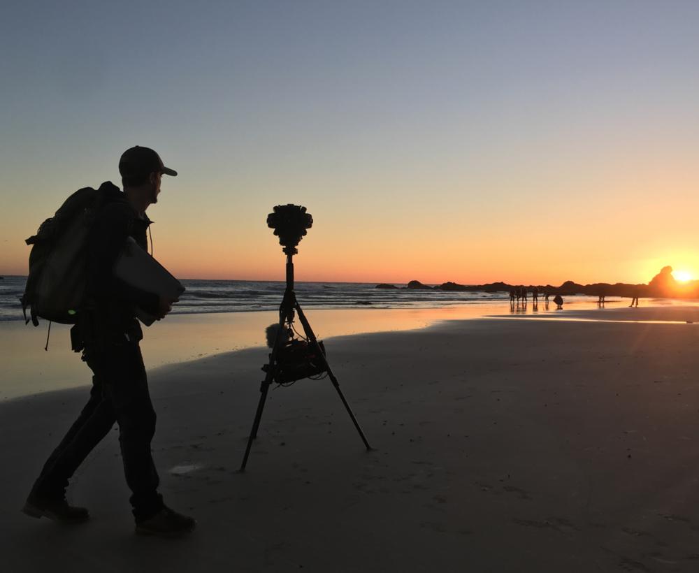 Carriberrie - Behind the scenes in Byron Bay