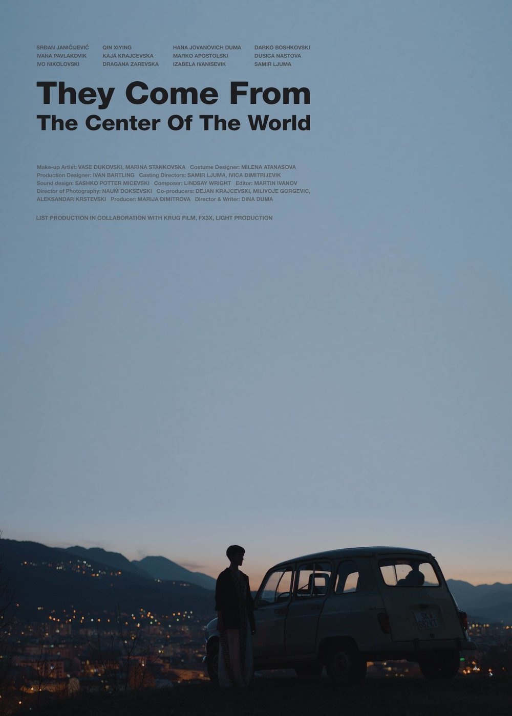 They Come From the Center of the World official poster