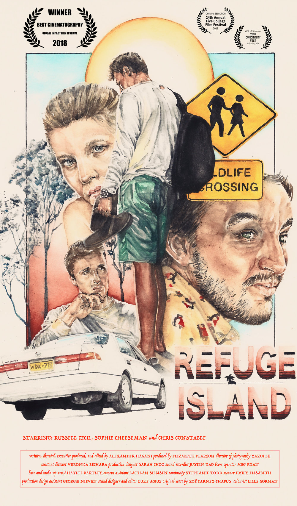 Refuge Island official poster