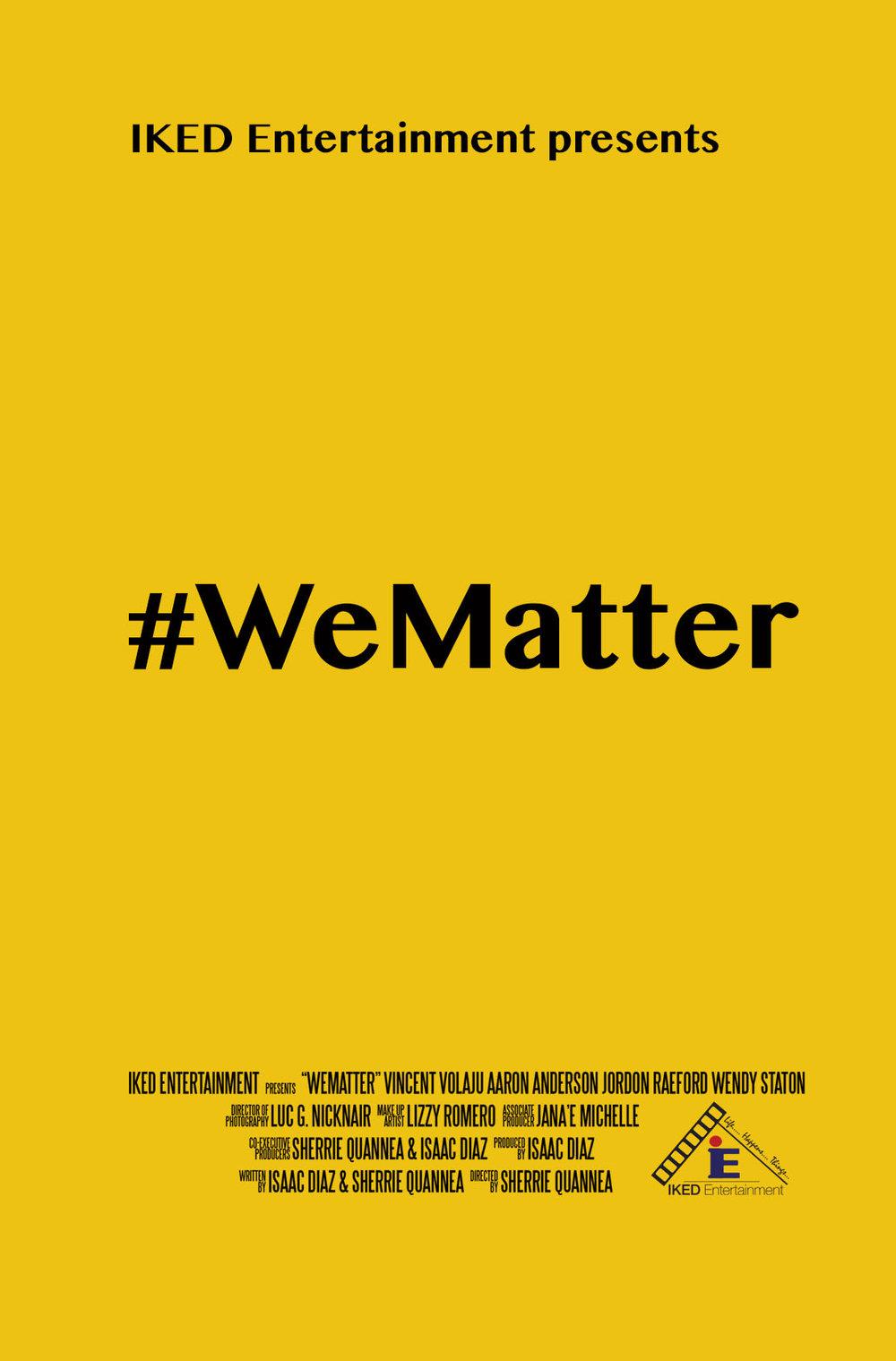 We Matter poster