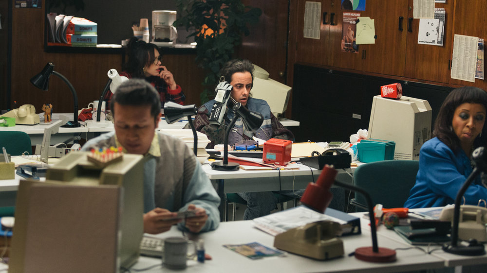 The Give and Take - Caesar working at a gaming call centre.