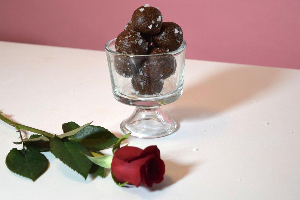 How To Make Salty Chocolate Balls