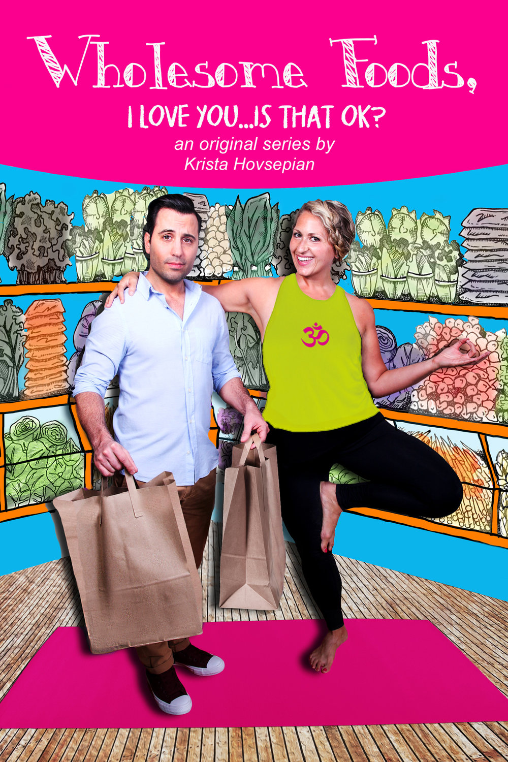 Official Poster featuring Daniel De Santo and Krista Hovsepian