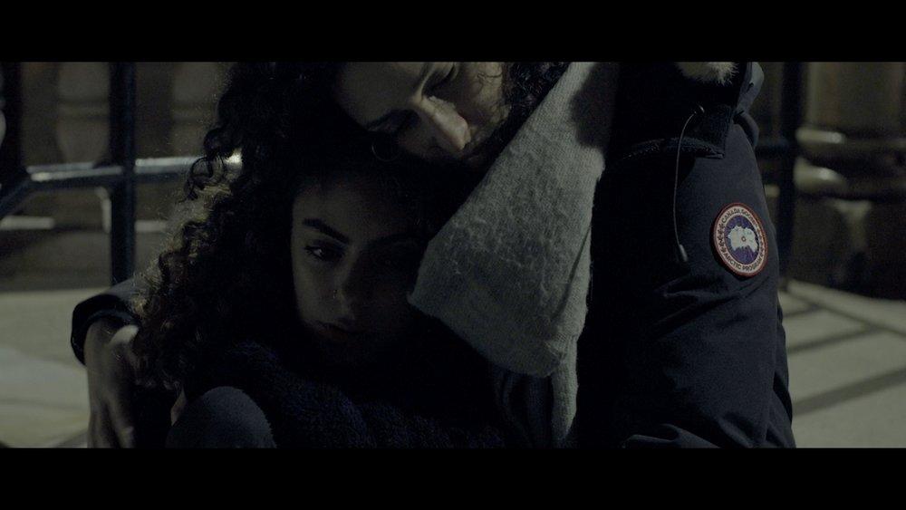 Same, Old - Farah embraces Lina for a hug.
