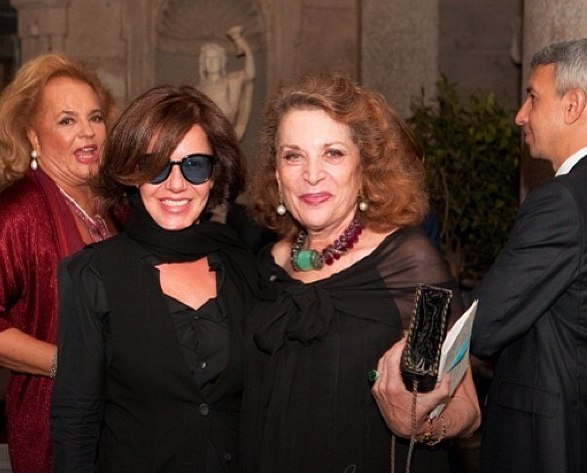 Mila with Diane Furstenberg