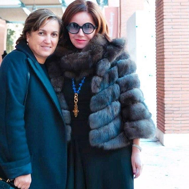 Mila and Silvia Fendi