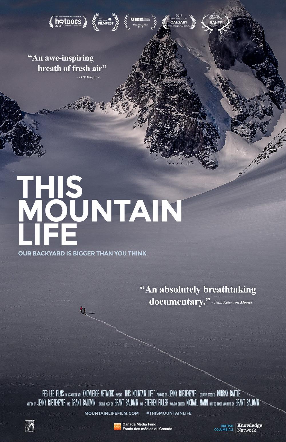 This Mountain Life poster