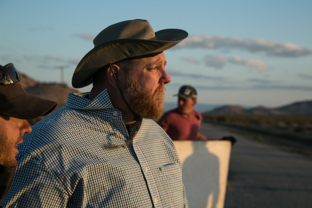 Director Dave Yohe on the set of THE SILVER