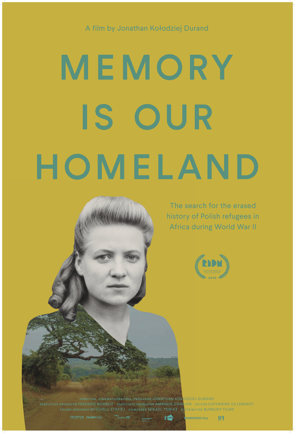 Memory Is Our Homeland poster