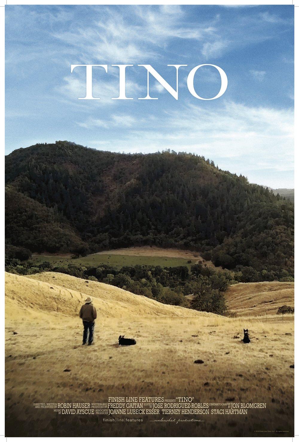 Tino poster. Photo credit: Jon Blomgren