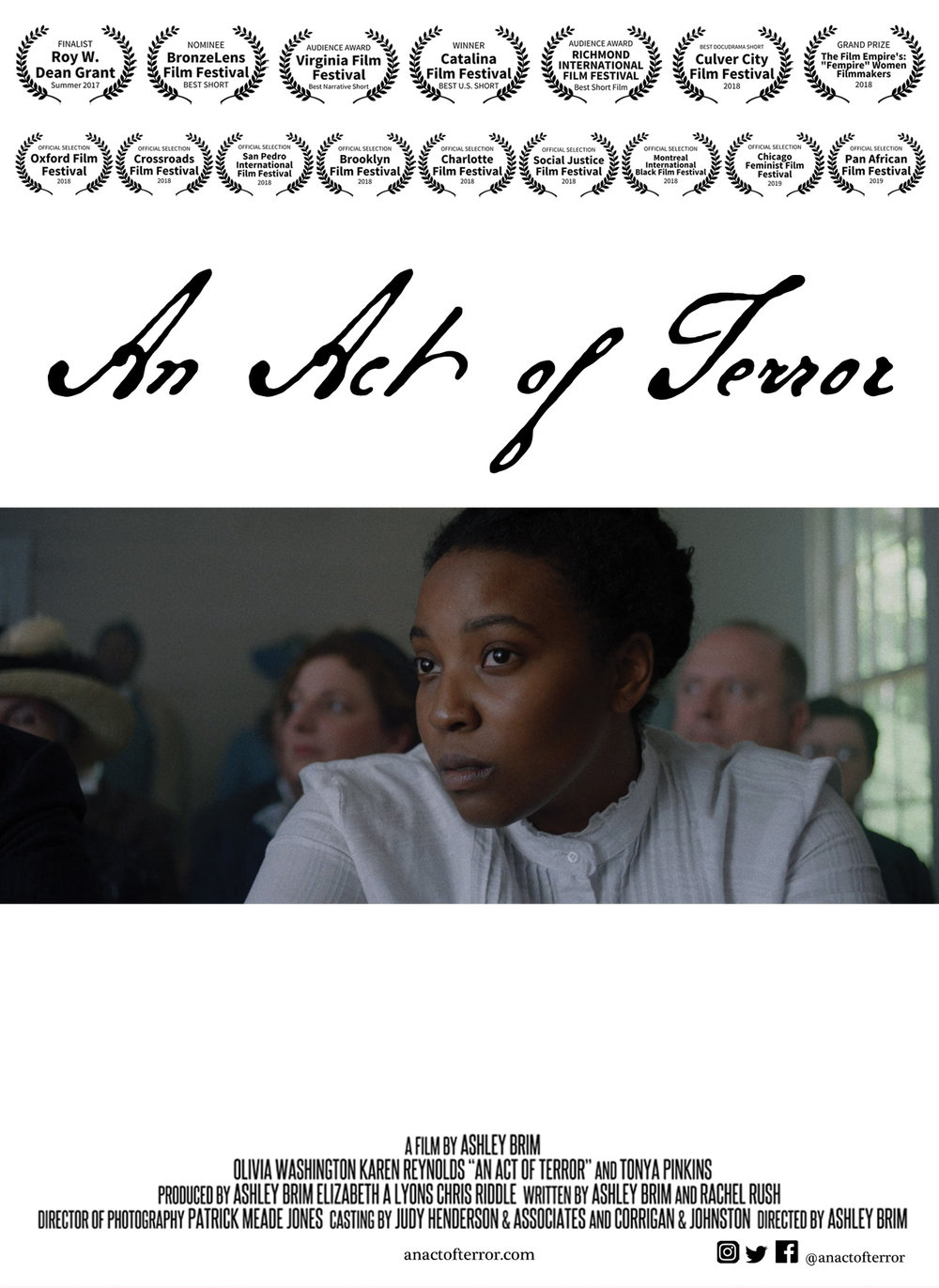 An Act of Terror poster