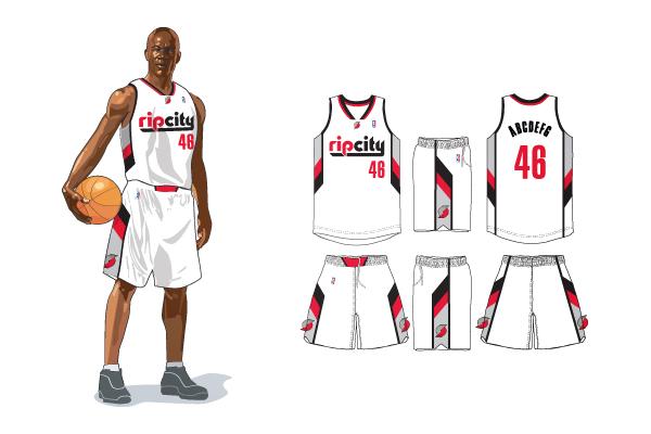 96+ Portland Trail Blazers Unveil New Rip City Uniform. Damian ... 78dd48f76