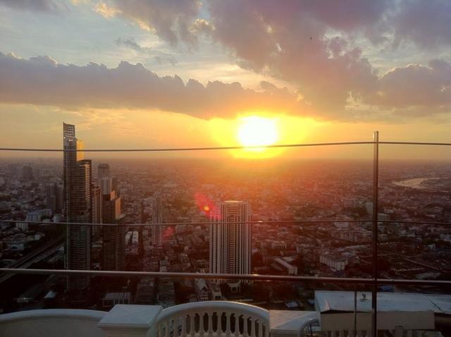 Lebua Hotel- Sky Bar'da gün batımı