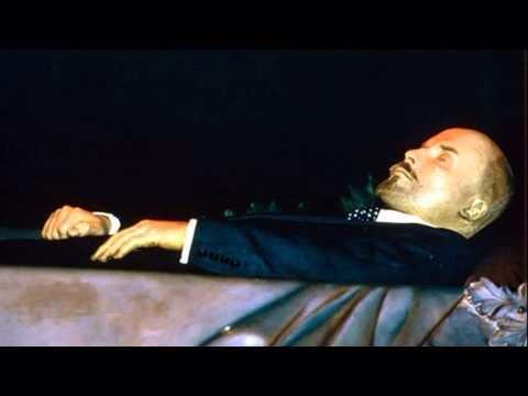 Lenin`in mumyası.