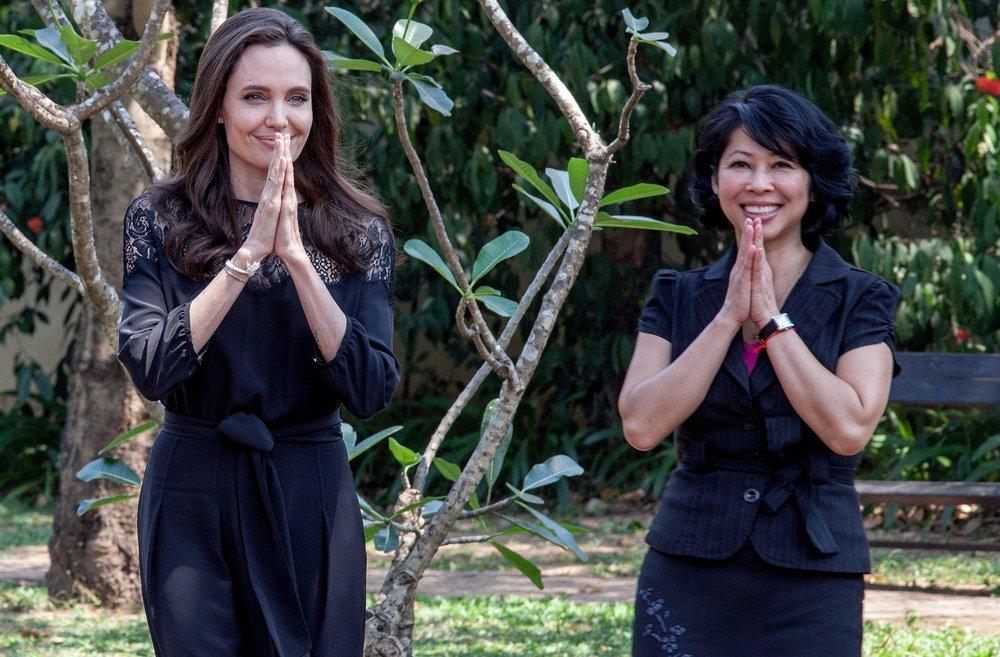 Angelina Jolie ve Long Ung