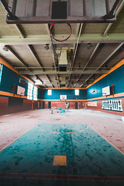 Abandoned School | Gym.jpg