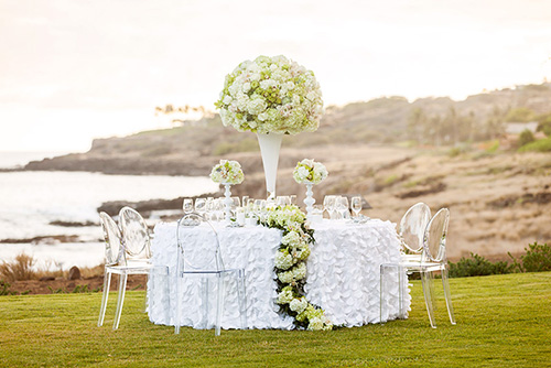 Four Seasons Lana'i wedding venue - Mike Adrian Photography