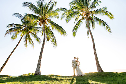 Wedding at Olowalu Plantation - photo by Table 4 Weddings
