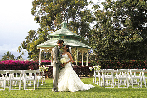 Hotel Wailea - Maui wedding venue