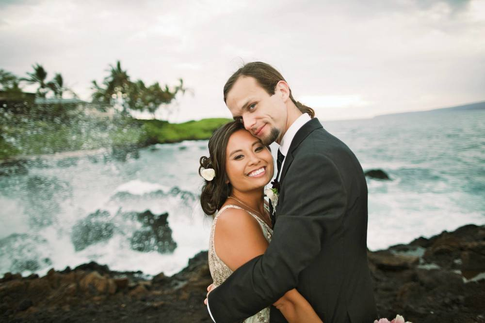 beach front hawaii wedding
