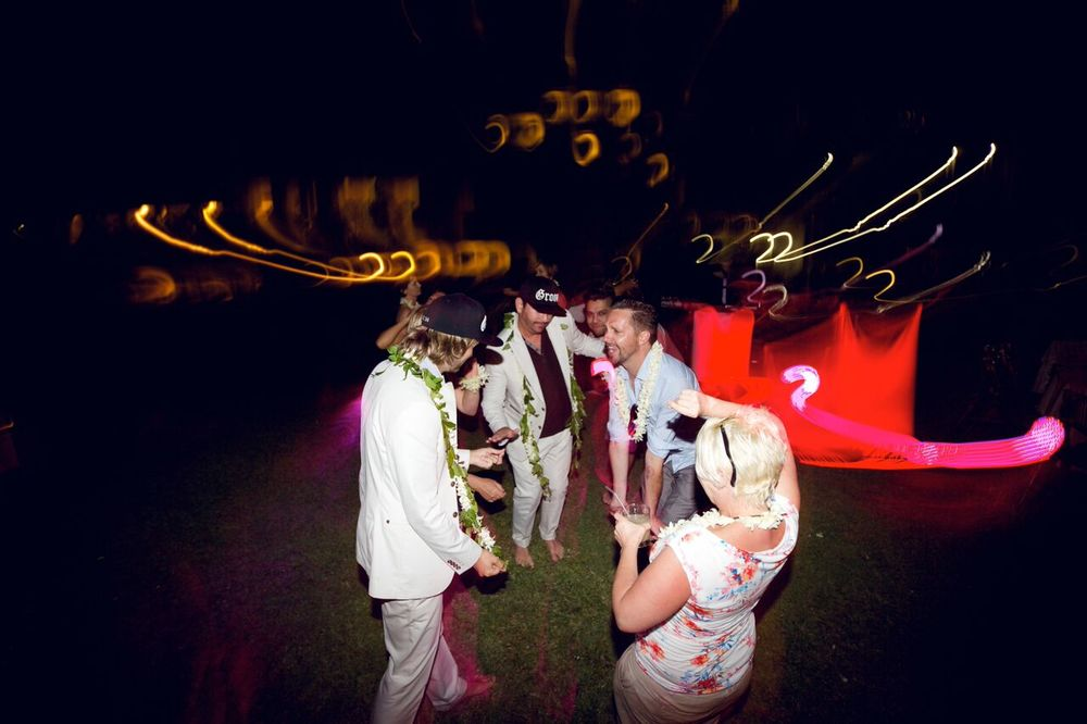 Maui wedding reception at Makena Beach and Golf Resort