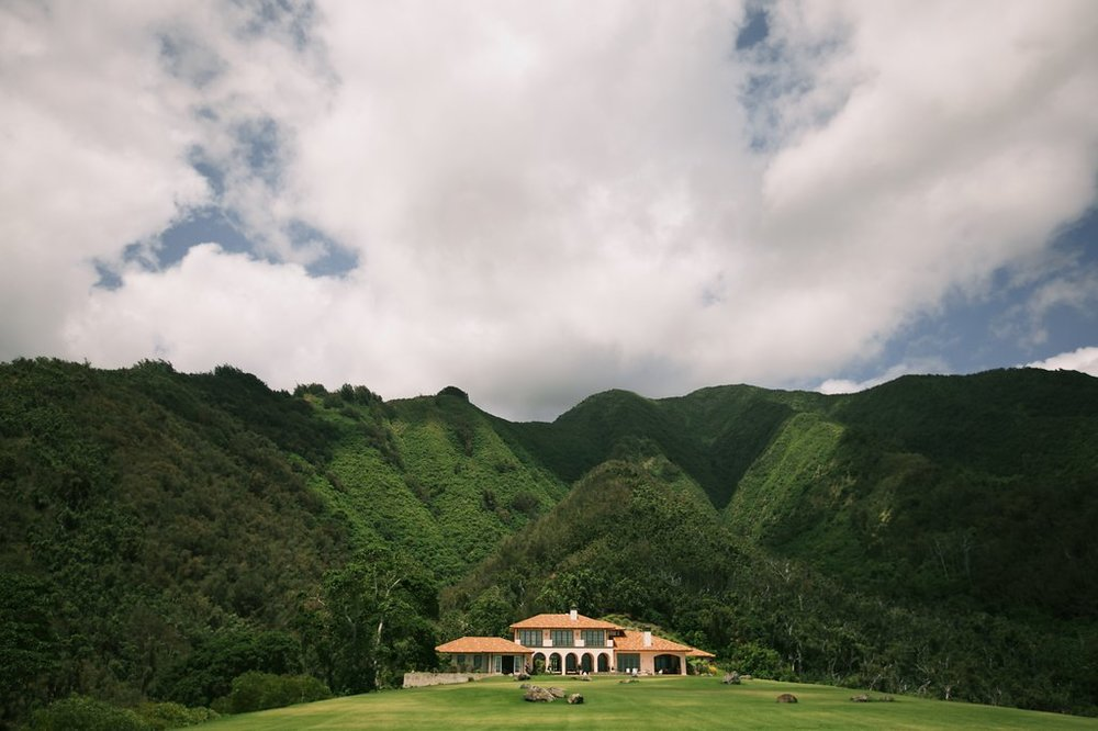 Lona Ridge, Maui, Hawaii Wedding Venue