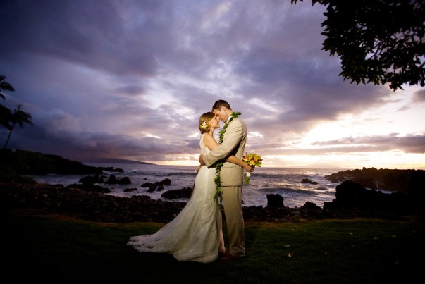 Bliss Maui Sunset Wedding