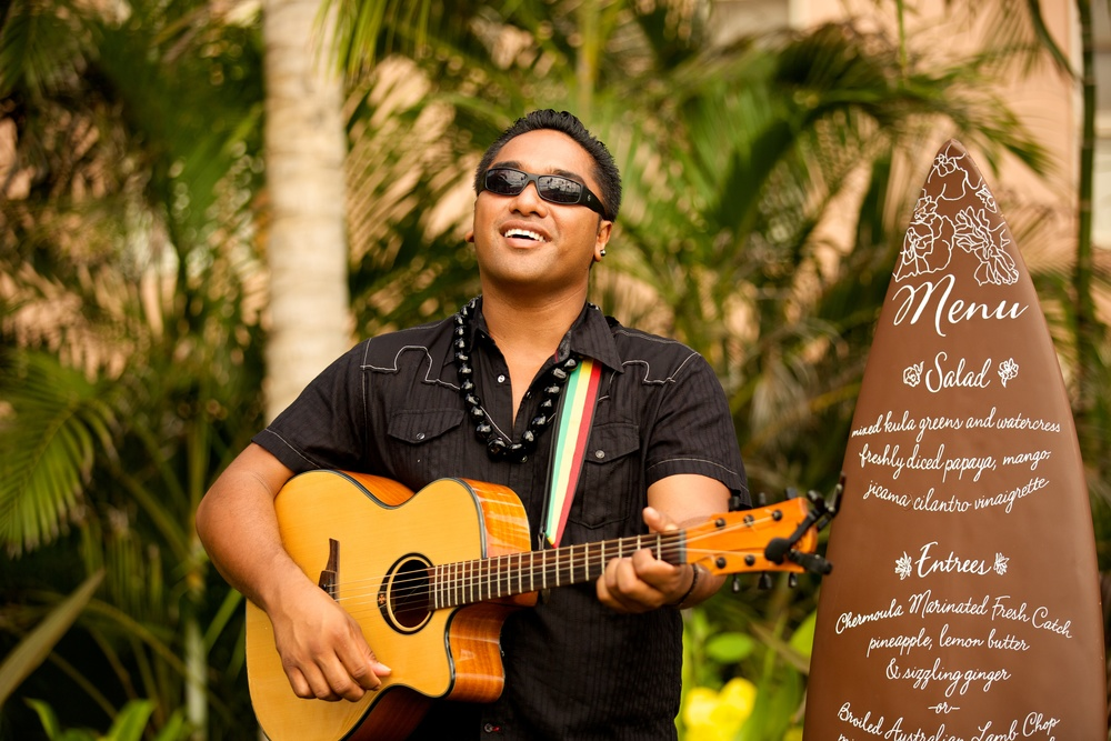 Hawaiian Musician - Bliss Maui Wedding