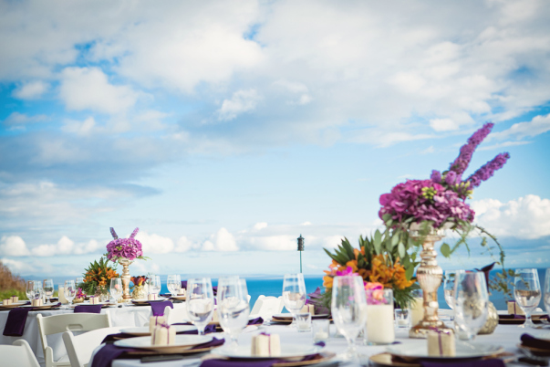 Purple Wedding - Maui, Hawaii
