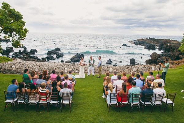 Oceanfront Island Wedding