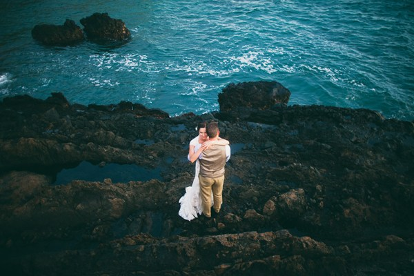 Gorgeous Oceanfront Maui Wedding