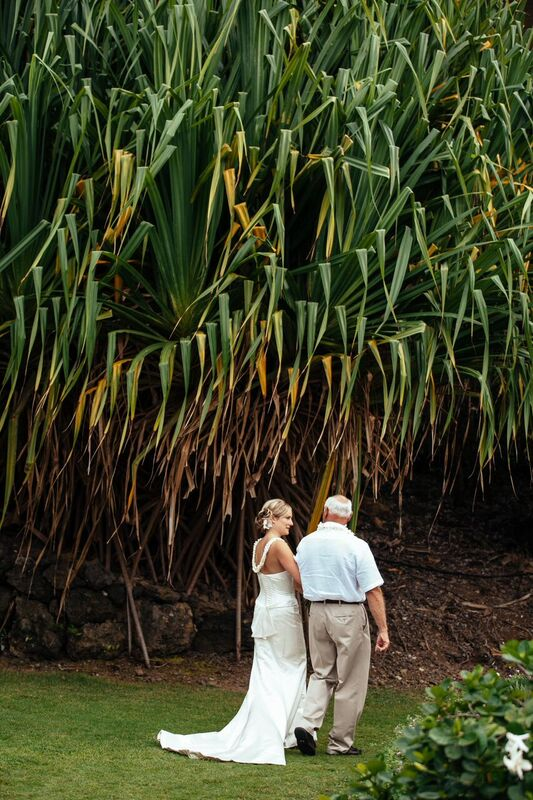 outdoor Maui wedding