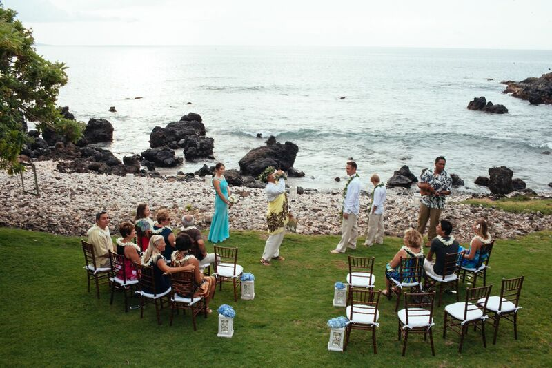 outdoor island wedding
