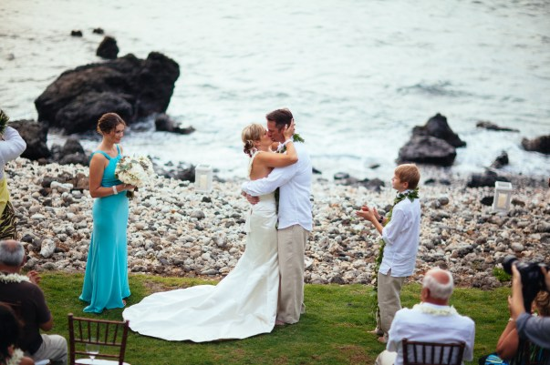 oceanfront island wedding by Bliss