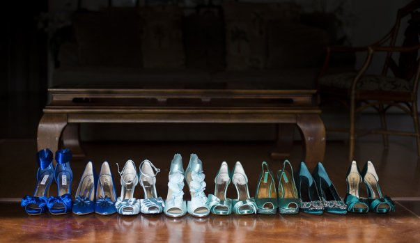 bridal high heel collection