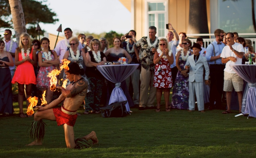 Hawaii Wedding Performance