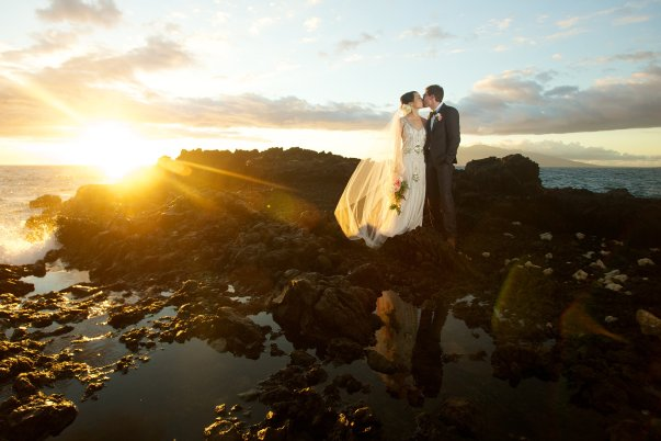 Maui Wedding Sunset Bliss