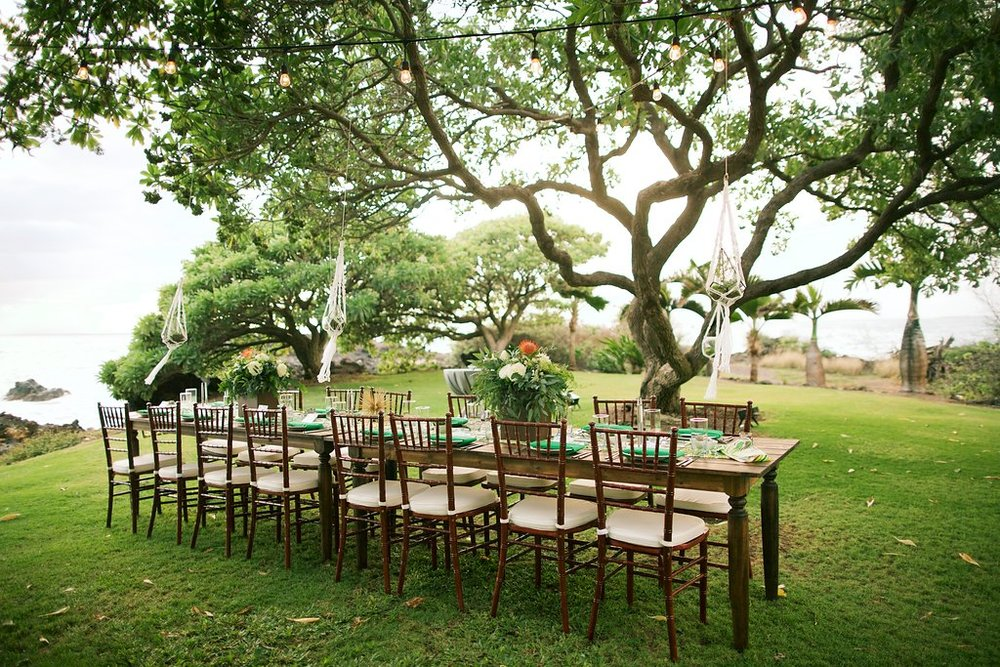 Retro Tropical Wedding Stephanie Colton Bliss Maui Wedding