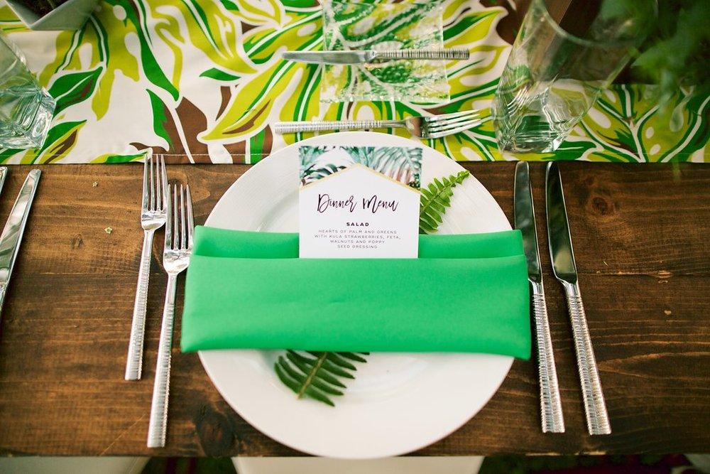 Retro Tropical Wedding: Stephanie + Colton | Bliss - Maui Wedding ...