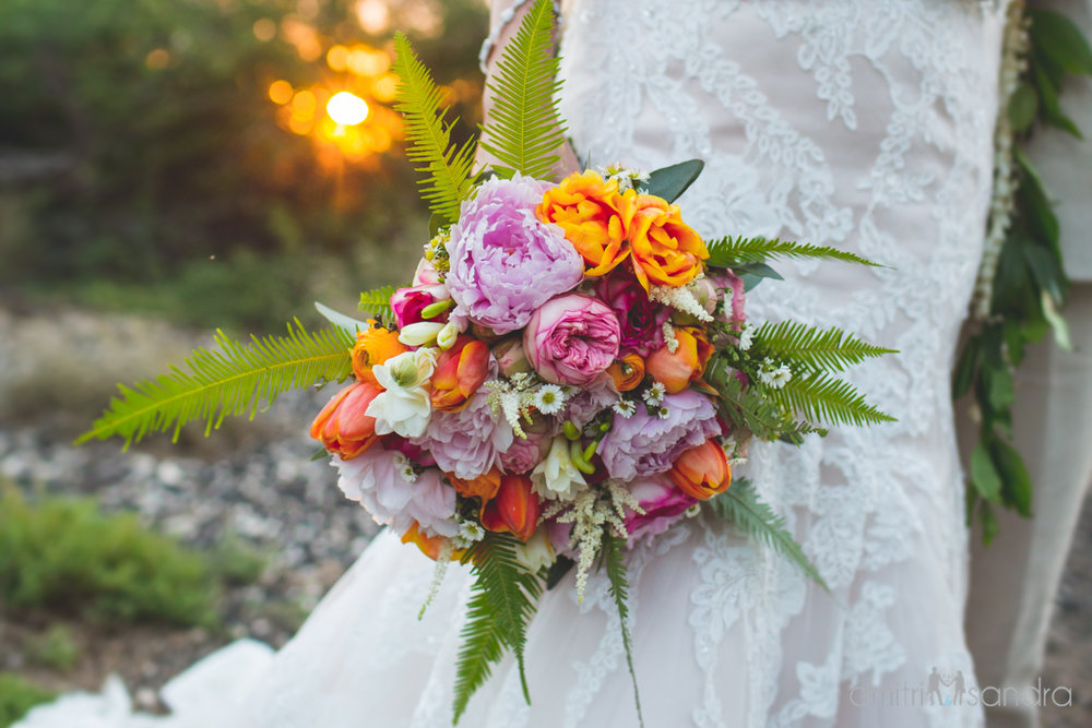 Bliss Wedding Design & Spectacular Events - bridal bouquet by Petals