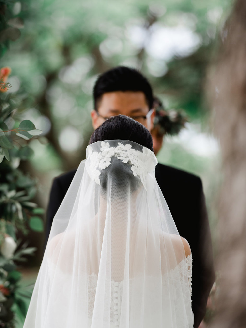 Bliss Wedding Design & Spectacular Events - wedding veil