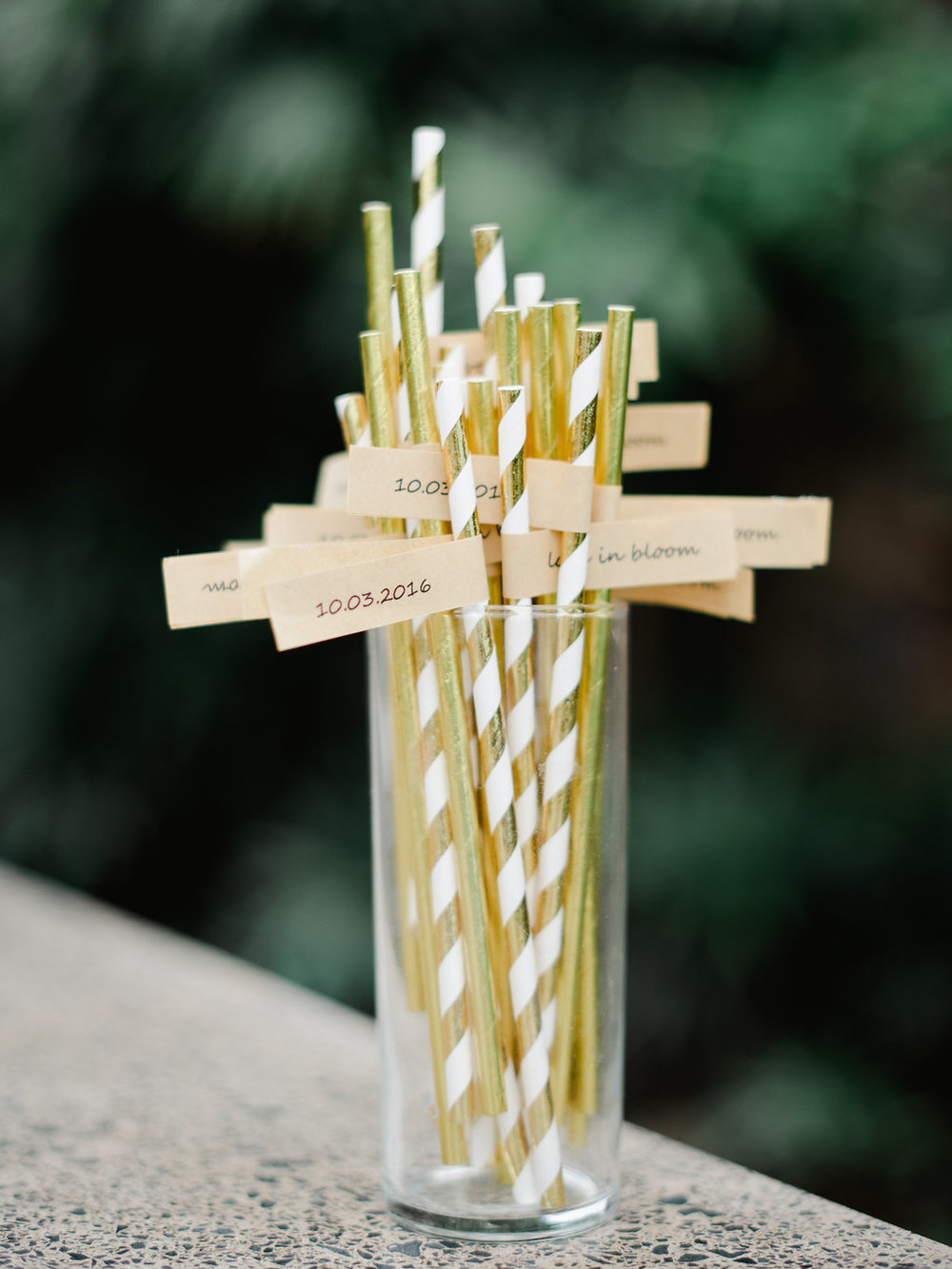 Bliss Wedding Design & Spectacular Events - party straws