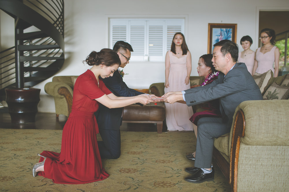 Tea Ceremony- Bliss Maui Wedding - Dmitri and Sandra Photography