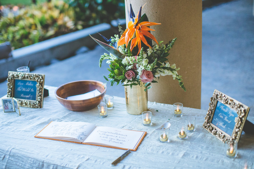 Tropical Wedding Details  - Bliss + Dmitri and Sandra Photography