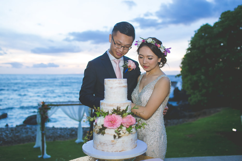 Wedding Cake - Dmitri and Sandra Photography