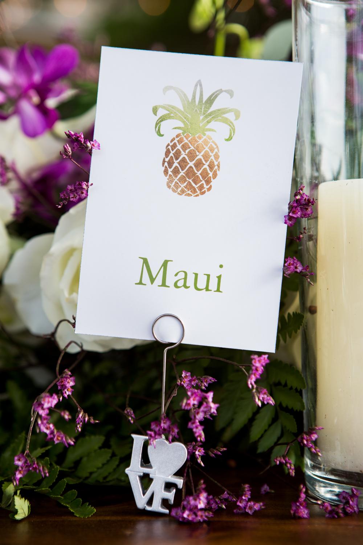 Colorful & Tropical Maui Nuptials: Shirley + Thomas | Bliss - Maui ...