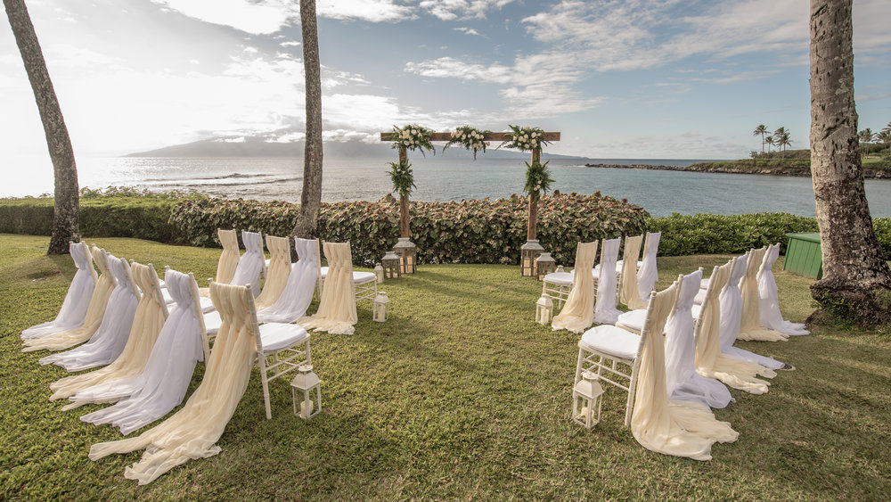 Merriman's Maui Wedding | Wedding Cake Gender Reveal On Maui Kala Tyler Bliss Maui