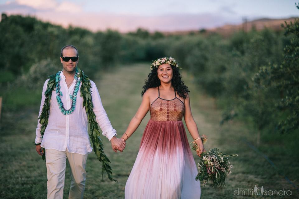 Dreamy Olive Farm Island Wedding: Jazmyne + Julius | Bliss - Maui ...