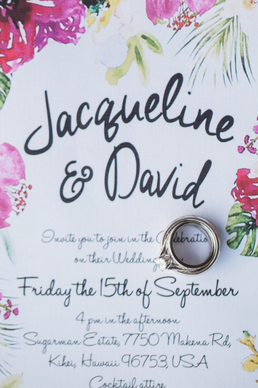 a celebration of love jacqui david bliss maui wedding
